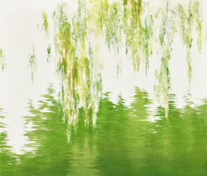 Reflected water, 2020, Color on paper, 455×530mm